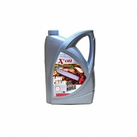 X oil Huile de chaine tronçonneuses 5 L
